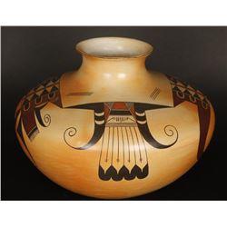 Polychrome Santa Fe Pot