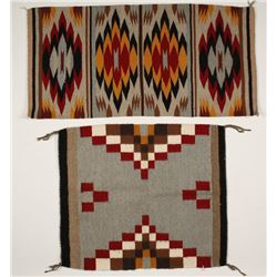 Two Small New Mexico Style Textiles