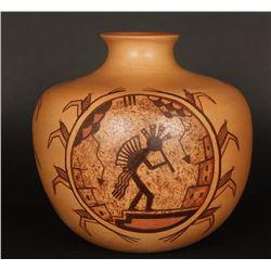 Painted Hopi Pottery Vase