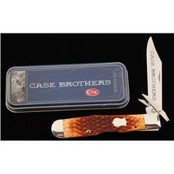 Case Single Blade Cheetah Chestnut Pocket Knife
