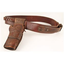 Leather Single Holster Rig by Chapparral