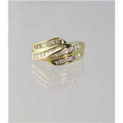 Stylish Contemporary Diamond Ring