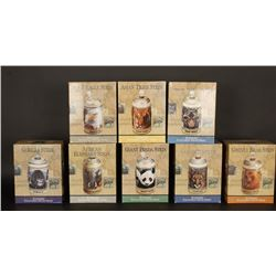 Lot of 8 Steins