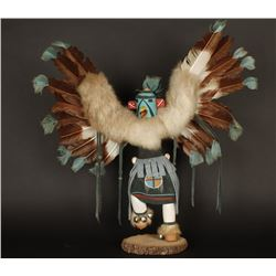 Hopi Eagle Dancer Kachina by Gilbert Reuben