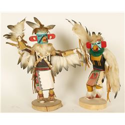 Lot of 2 Kachina Dolls