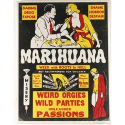 Marihuana Vintage Poster