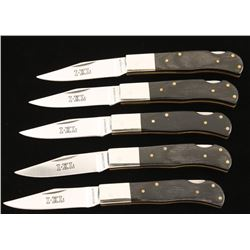 5 Wostenholm IXL Pocket Knives