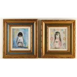 Collection of 2 Fine Art Prints by DeGrazia