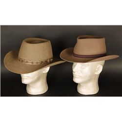 Lot of Two Fur Felt Cowboy Hats
