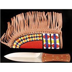 Coffin Handled Dagger