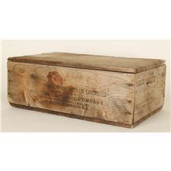 Western Ammunition Crate