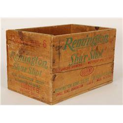 Wood Remington Ammo Crate