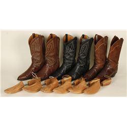 3 Pairs of El Dorado Cowboy Boots