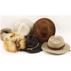 Lot of 5 Hats