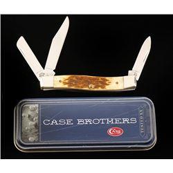 """3-Blade Case """"Stockman"""" Pocket Knife"""