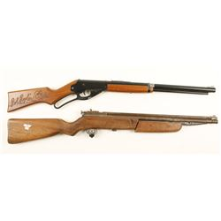 Lot of Two Air Rifles