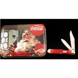 Coca Cola Case Pocket Knife
