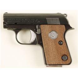 Colt Junior Pocket .25 Auto SN:OD17290