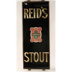Reid's Stout Beer Sign
