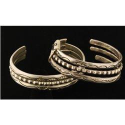 Lot of 4 Sterling Bracelets