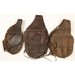 3 Vintage Saddlebags