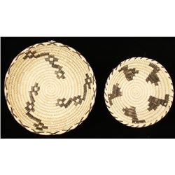 Collection of 2 Tohono O'Odham Basketry Trays