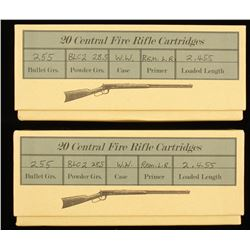 Two Boxes of .38-55 Ammo