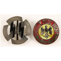 German WWII Nazi Repro Badges