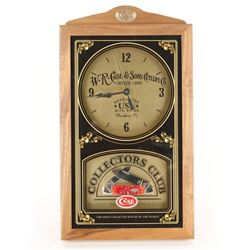 W.R. Case & Sons Cutlery Co. Clock