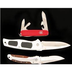 Lot of 3 Pocket Knives