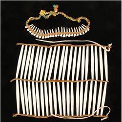 Native American Chest Plate & Necklace