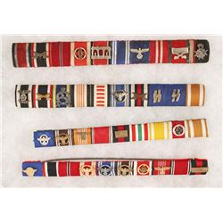 Lot of German WWII Repro Ribbons