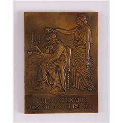 Prud'homme (G.-H.) bronze art medal for the