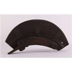 Early 20th Century, wood ship wheel plane tool.  (Size: