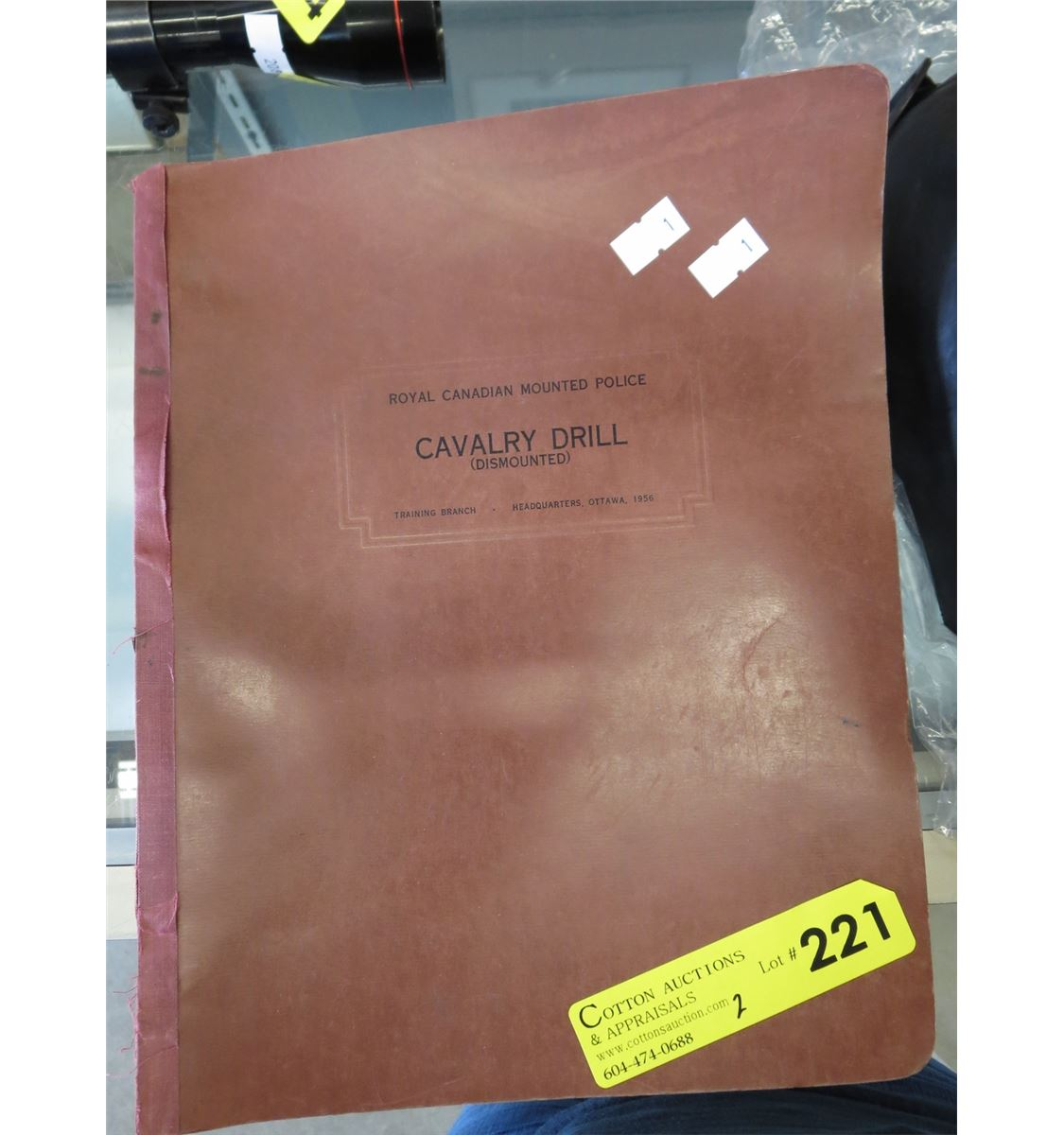 1957 RCMP cavalry drill manual