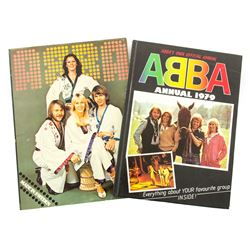 Set of two ABBA Books, Annual 1979 & Made in Sweden