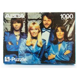 Vintage 1973 ABBA Jigsaw Puzzle from Germany