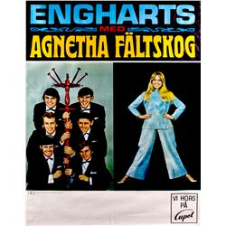 Engharts med Agnetha Fältskog from ABBA Promotional Poster