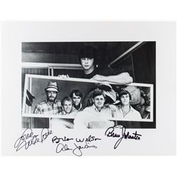 The Beach Boys 2007 Promo Photo Print Signed by Brian, Mike, Al & Bruce