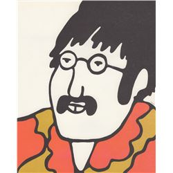 The Beatles Yellow Submarine Set of 6 Lithographs