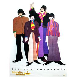 "The Beatles ""Yellow Submarine"" promotional poster"