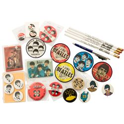 Collection of Vintage 1960s Beatles Pins