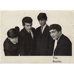 The Beatles Rare Photograph Signed by All Four Band Members
