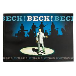 Beck Original Vintage 1997 World Tour Photo Book