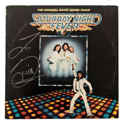 "Barry Gibb Signed ""Saturday Night Fever"" Soundtrack LP Album"