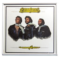 "Bee Gees ""Children of the World"" Framed Mirrored Picture"