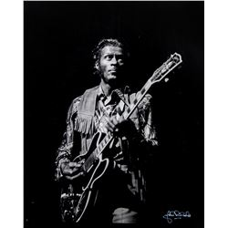 Original 1968 Chuck Berry Photo by John Rowlands