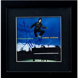 "Jamie Cullum Autographed ""Twentysomething"" Album Framed"