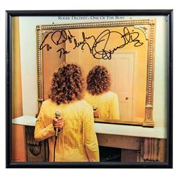 "Roger Daltrey ""One of the Boys"" Autographed Album Framed"