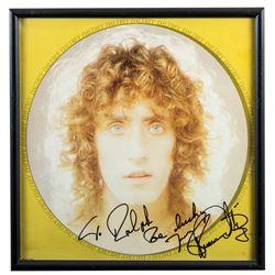 "Roger Daltrey Autographed ""Daltrey"" Album Framed"